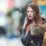 Ciepły ubiór w zimne dni